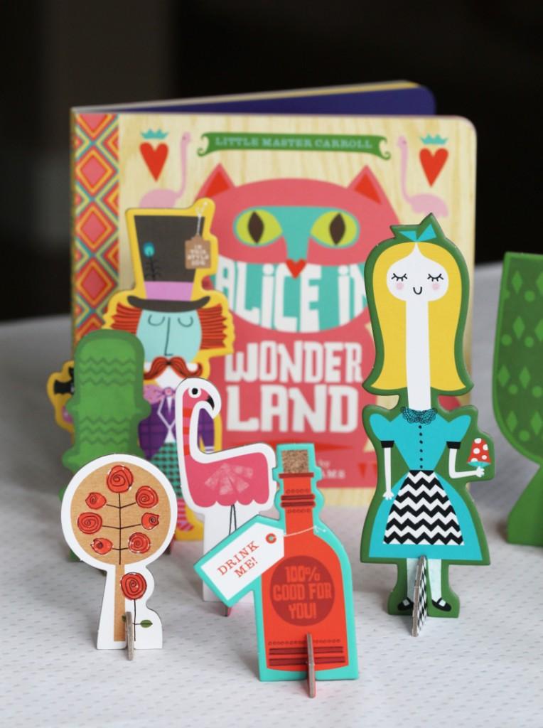 The Alice in Wonderland playset.